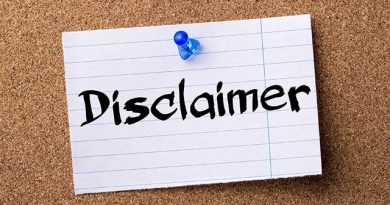 Disclaimer On Unapproved Institutions
