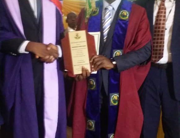 MLSCN REWARDS ACADEMIC EXCELLENCE AS STUDENT BAGS FIRST CLASS.